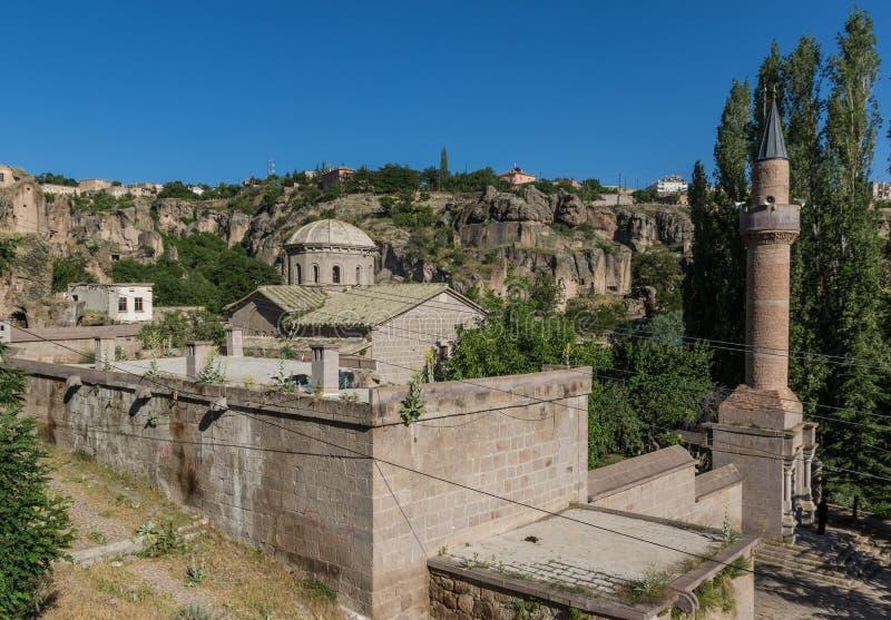 The wonderful landscape of Güzelyurt, Aksaray, Turkey stock images