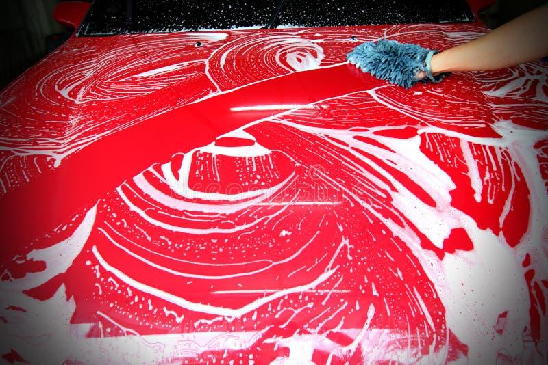 Gąbki cleaning carwash zdjęcia stock