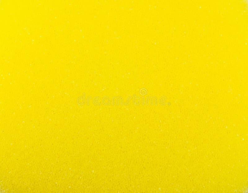 gąbki tekstury kolor żółty zdjęcia royalty free