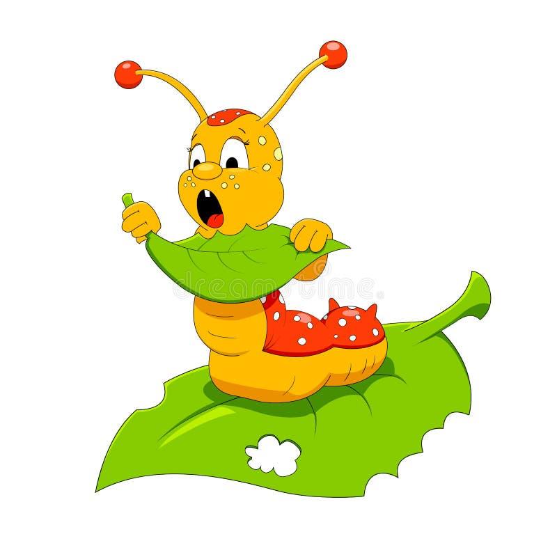 Gąsienica ilustracja wektor