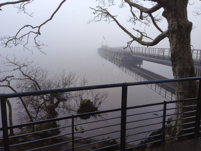 gęsta mgła obraz stock