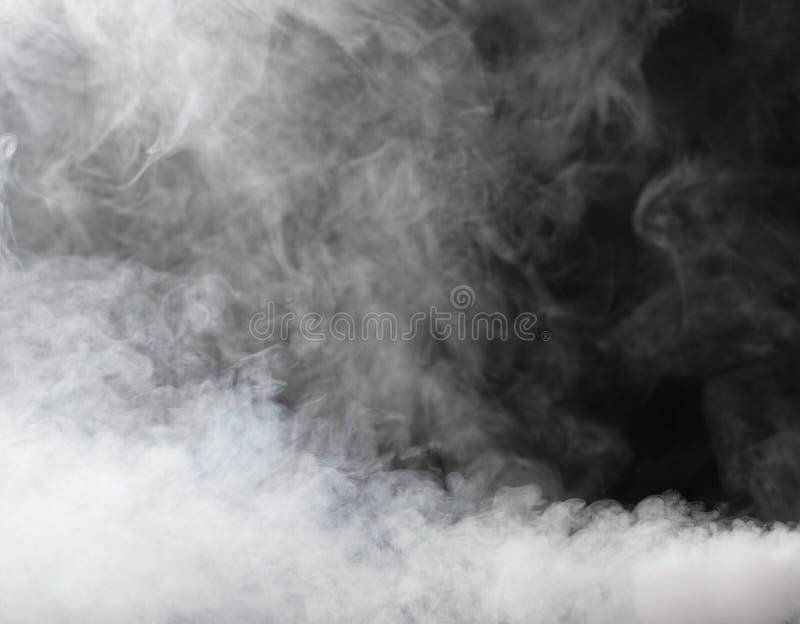 gęsty mgła strumień obrazy stock