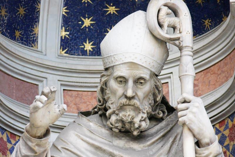 główna Florence katedralna rzeźba obrazy royalty free