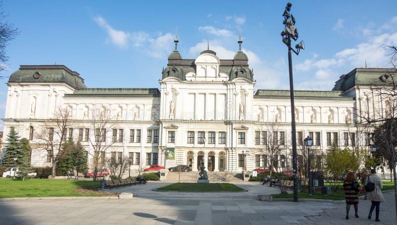 Główna galeria sztuki Bułgaria zdjęcia stock