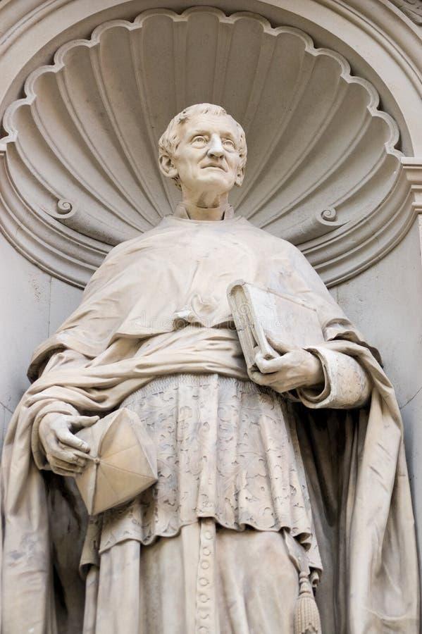 główna henry John Newman statua obraz stock