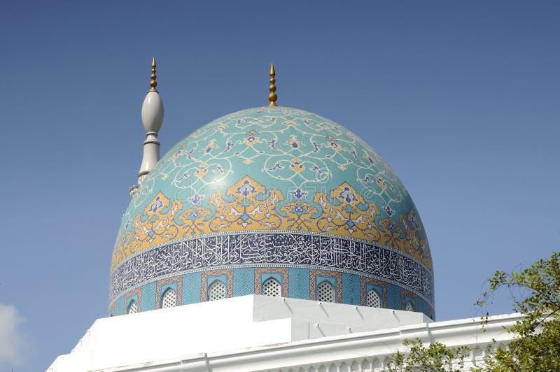 Główna kopuła al meczet w Kedah fotografia stock