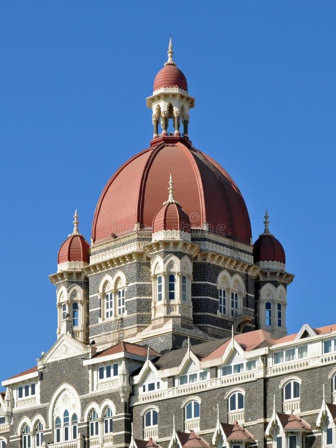 Główna Kopuła Taj Mahal Pałac Hotel fotografia stock