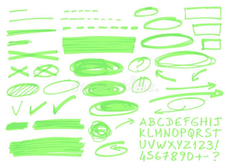 Główne atrakcje ilustracji
