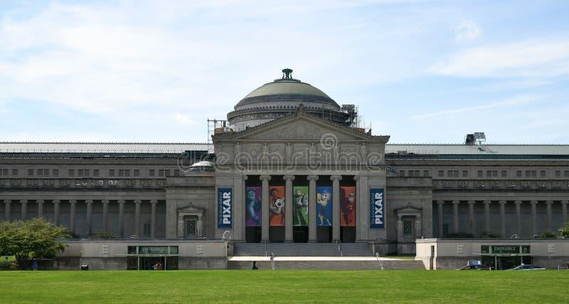 Główne Wejście muzeum nauka i przemysł zdjęcie stock