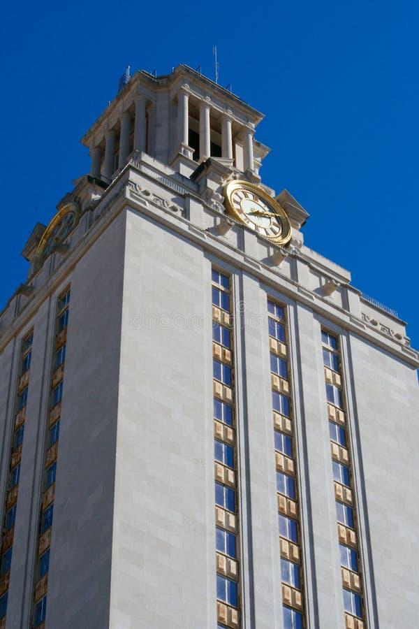 Głównego budynku wierza przy uniwersytet teksański zdjęcie stock