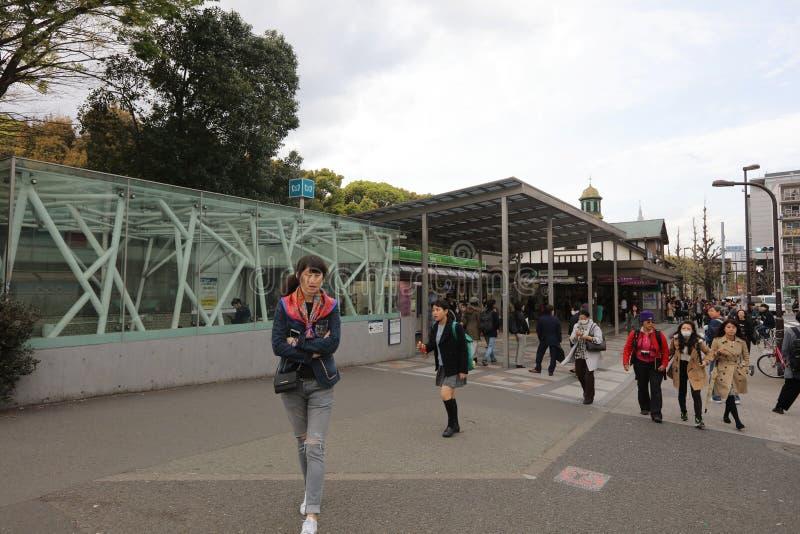 główny rozdroże Harajuku zakupy ulica fotografia royalty free