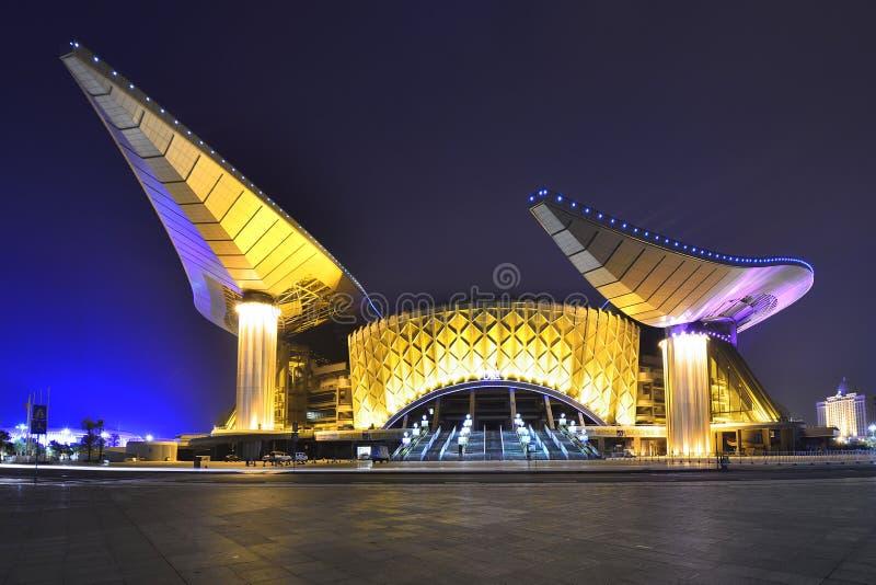 Główny stadium w Guangxi centrum sportowym zdjęcie stock
