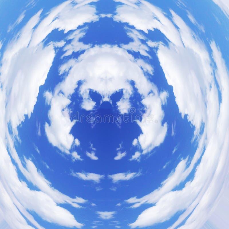 Głębia niebo obrazy royalty free