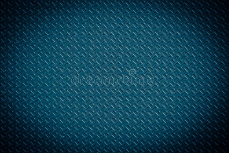 Głęboka błękitna miarowa plastikowa tekstura royalty ilustracja