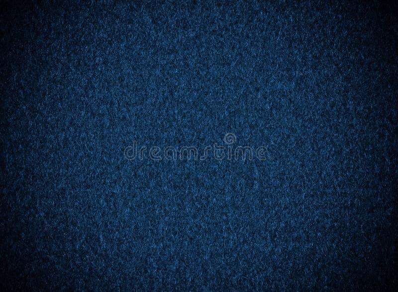 Głęboki błękit, tkaniny tekstura obrazy royalty free