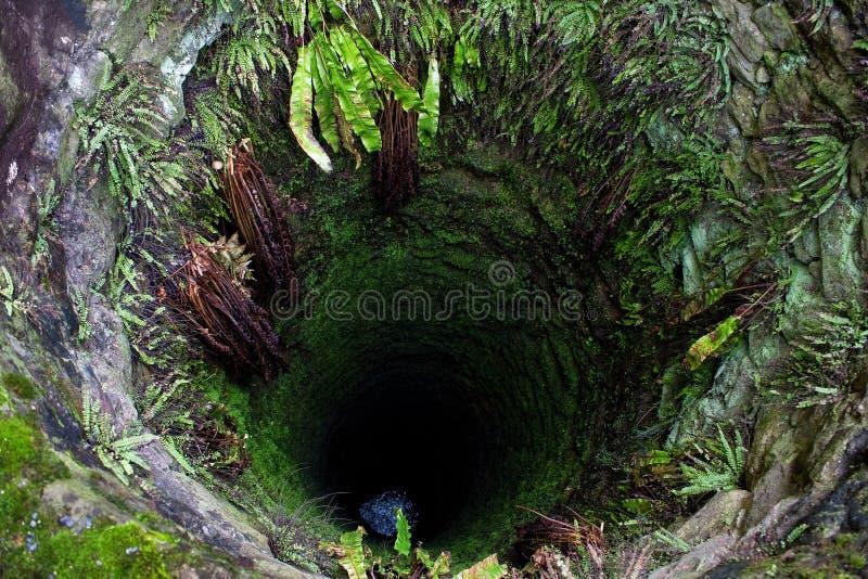 głęboki stary wodny well obrazy stock