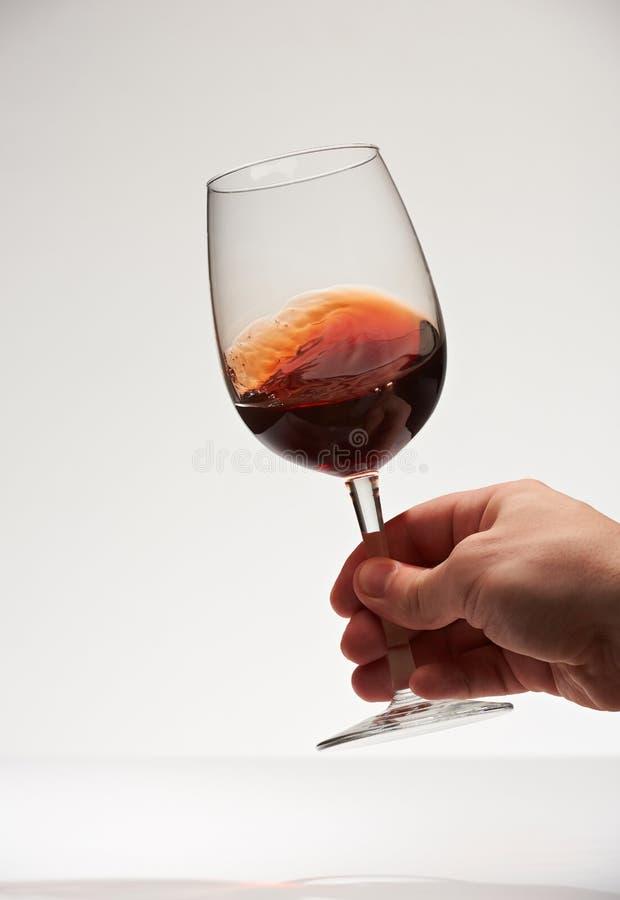 Gładka czerwone wino powierzchnia zdjęcia stock