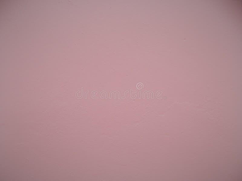 Gładka Różowa stiuk ściana fotografia royalty free