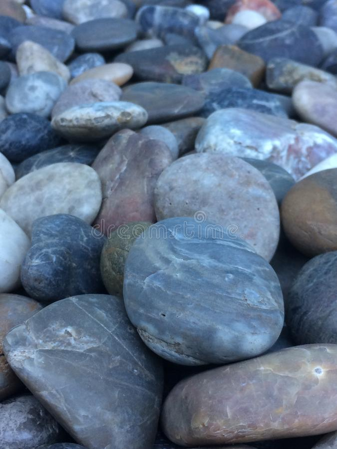 Gładkie kamień skały zdjęcie royalty free