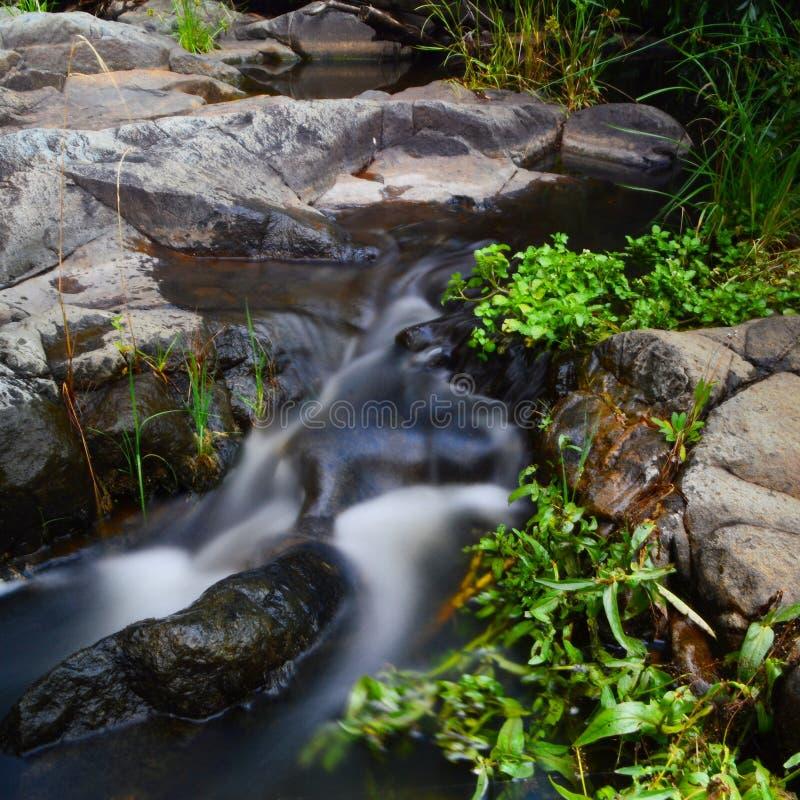 gładkie wody obraz stock