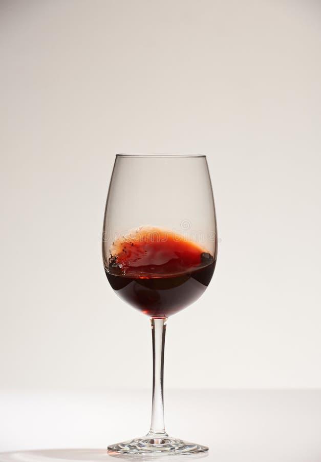 Gładzi powierzchnię czerwone wino obraz royalty free