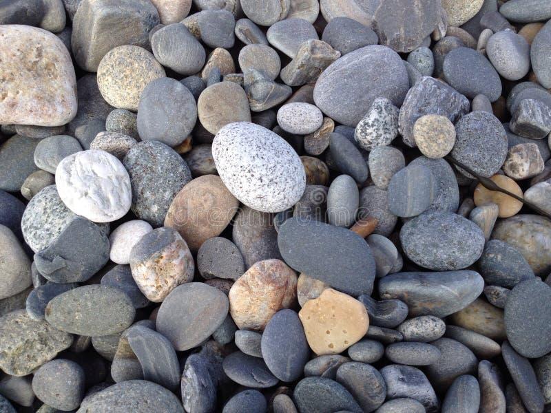 Gładzi skały obrazy royalty free