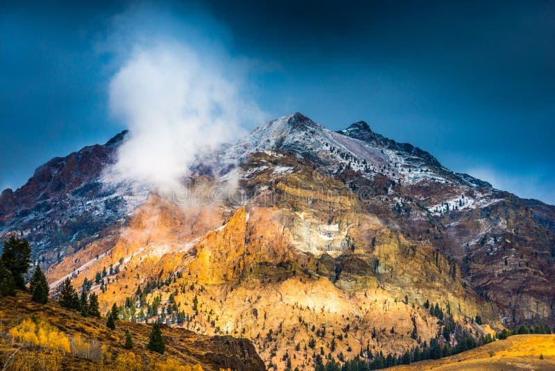 Głaz góry blisko Ketchum Idaho zdjęcia stock