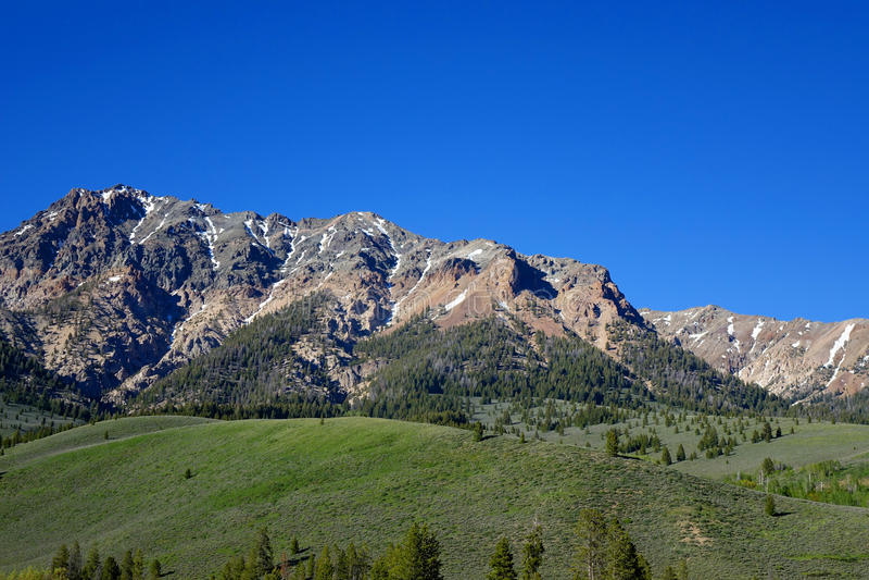 Głaz góry - Idaho obrazy royalty free