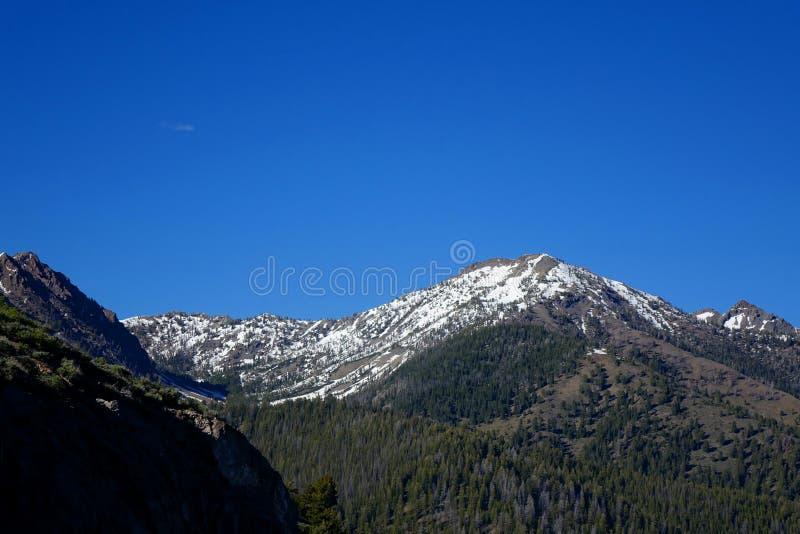 Głaz góry - Idaho obraz royalty free