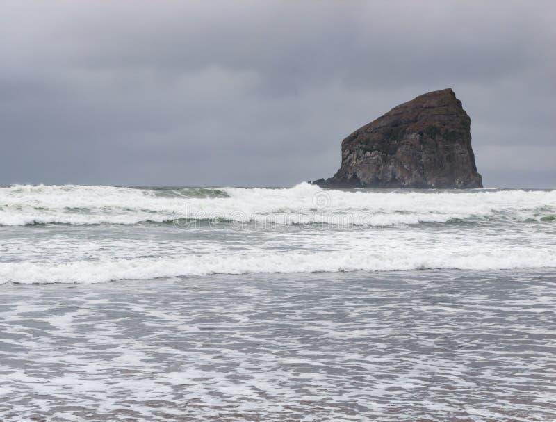 Głaz w morzu obraz royalty free