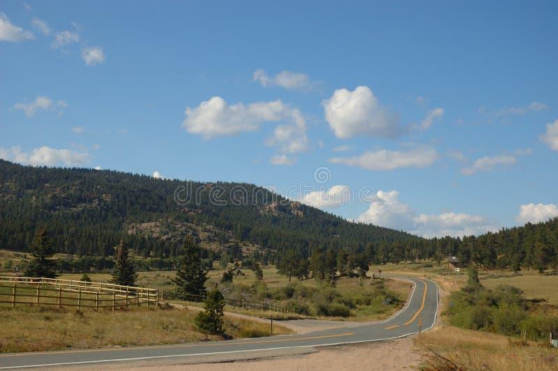 głazu Colorado droga fotografia royalty free