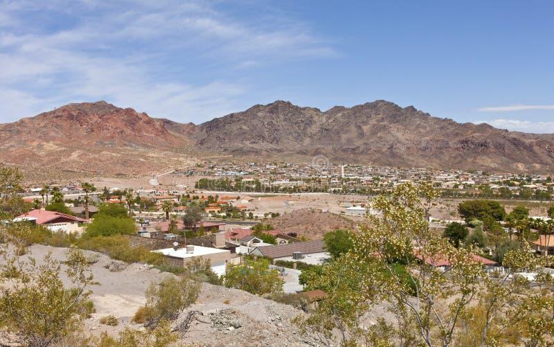 Głazu miasta przedmieścia Nevada. zdjęcie stock