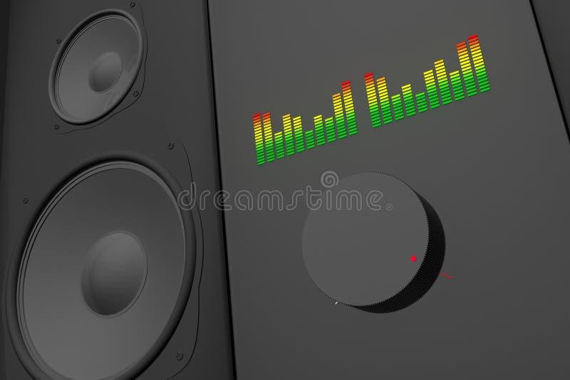 głośna muzyka ilustracja wektor