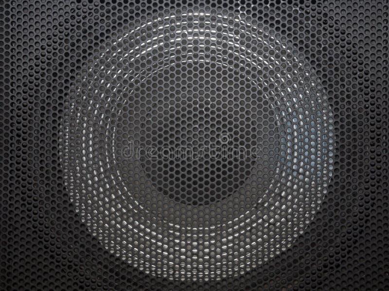 Głośnik siatka z round otwarciami royalty ilustracja