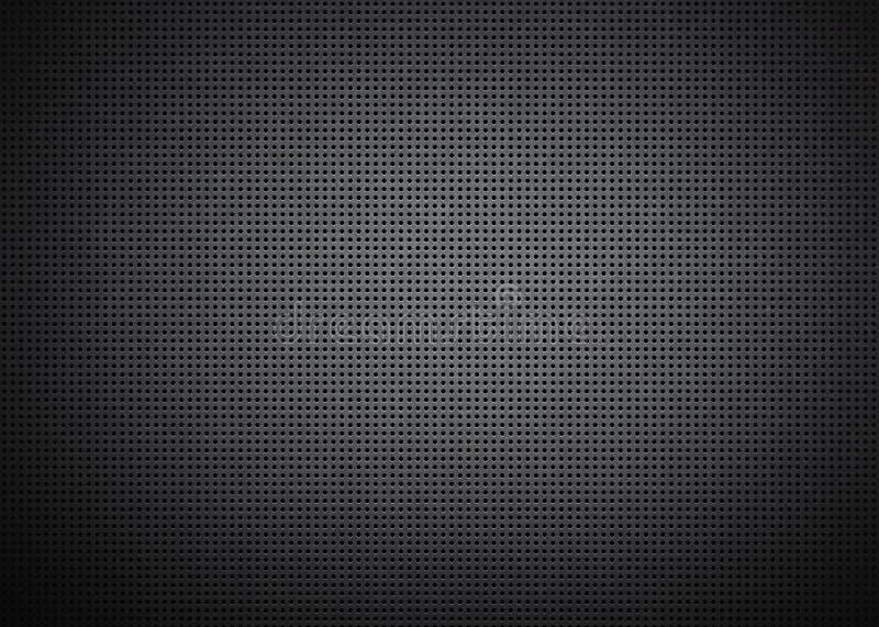 Głośnikowa grill tekstura royalty ilustracja