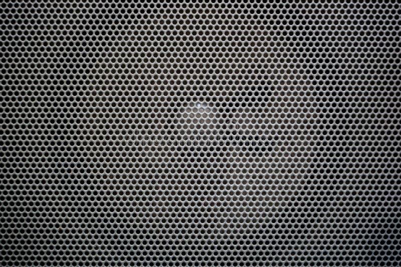Głośnikowa metal siatka zdjęcie royalty free