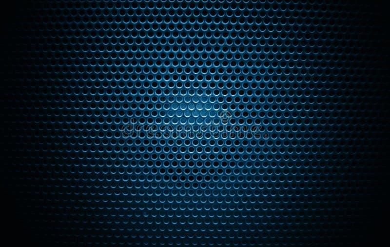 Głośnikowy grill tekstury czerń ilustracja wektor