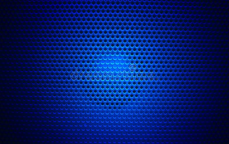 Głośnikowy grill tekstury czerń ilustracji