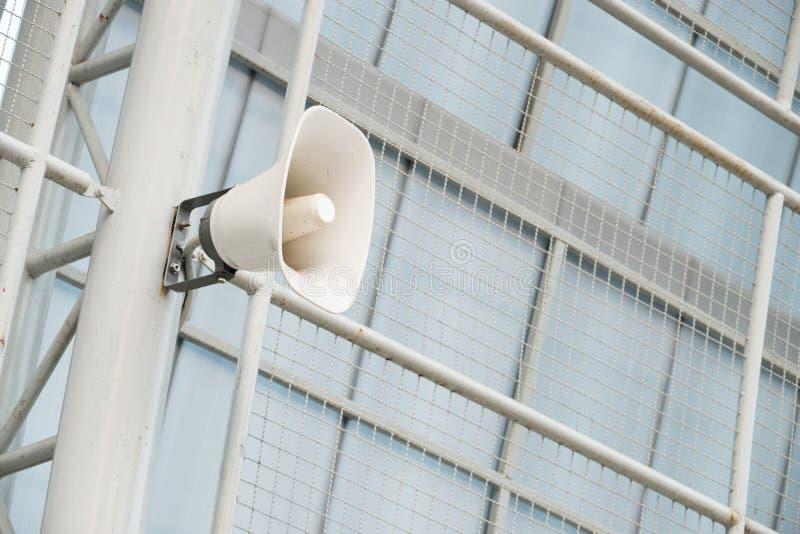 głośno mówcy white fotografia stock