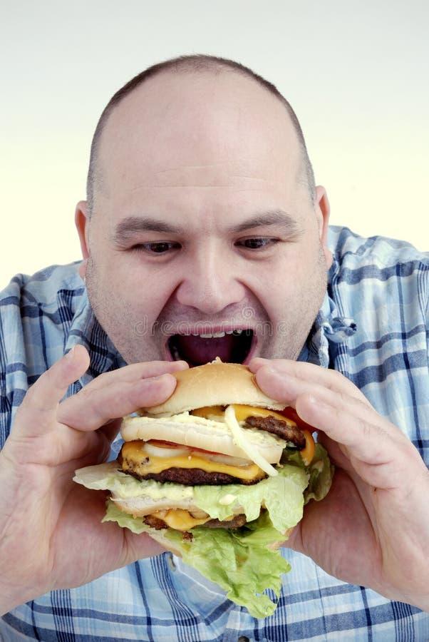 głodny. zdjęcie royalty free