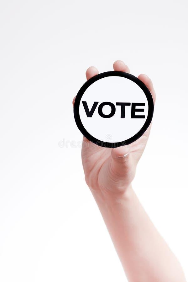 głosowania zdjęcia royalty free