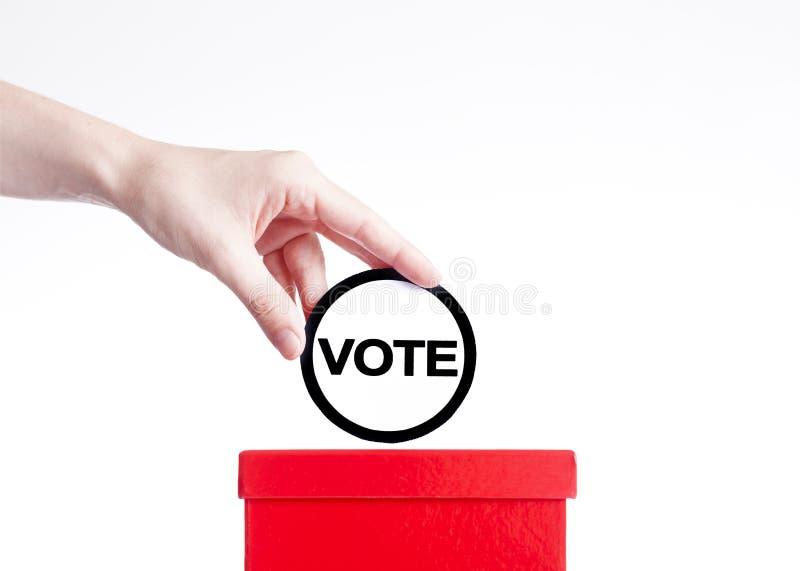 głosowania obrazy stock