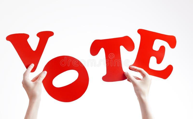 głosowania obrazy royalty free