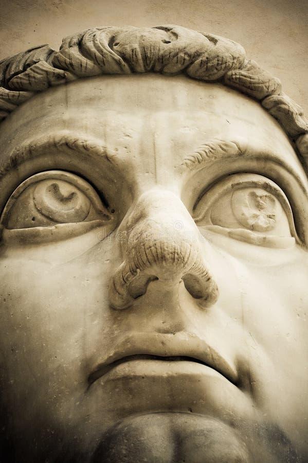 Głowa antyczna statua fotografia royalty free