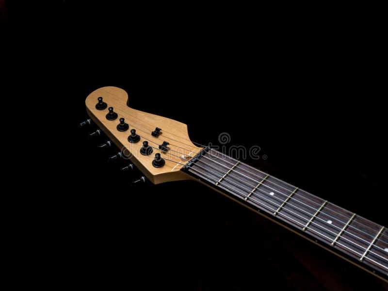 Głowa gitara elektryczna zdjęcia stock