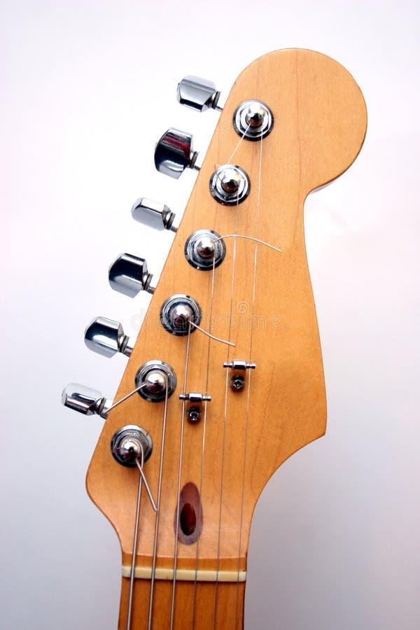 głowa gitary elektrycznej fotografia royalty free