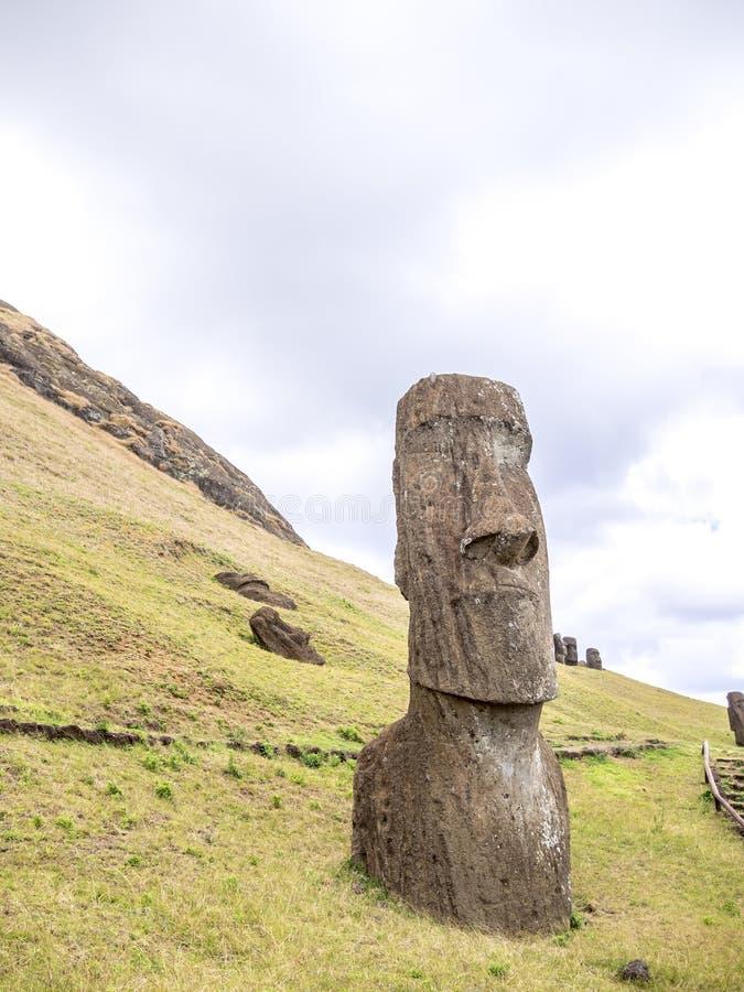 Głowa Moai obrazy stock