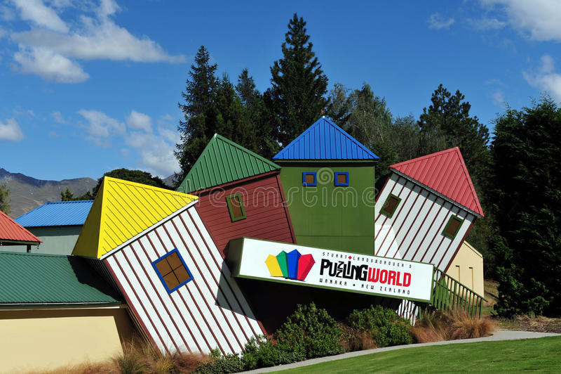 Głowienie świat Nowa Zelandia zdjęcia stock