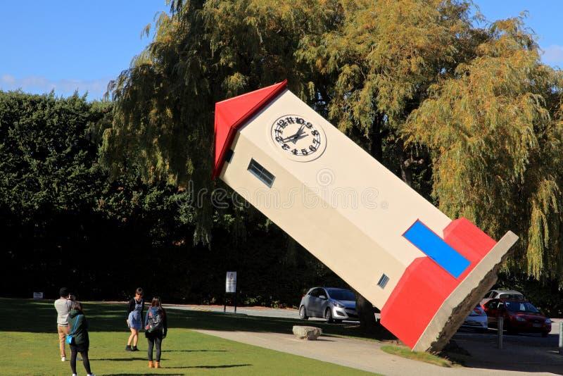 Głowienie świat, Nowa Zelandia zdjęcia stock