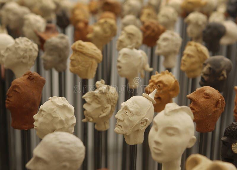 Głowy 12 obraz stock